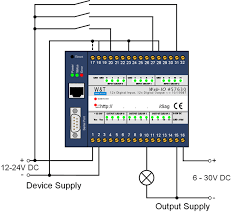 wut application input and output circuit digital signal wiring diagram