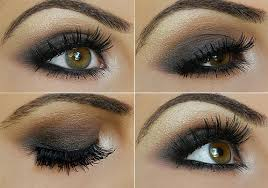 to begin with an eye shadow primer a k a eye shadow base will make all the difference though your average concealer with a sticky consistency work for