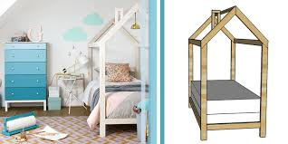 remodelaholic twin house bed frame