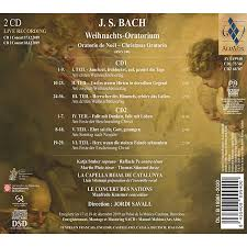 You can watch it in its entirety below, or get a quick taste above. J S Bach Weihnachts Oratorium Alia Vox