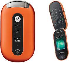 Handy Motorola PEBL U6 Orange Ohne ...