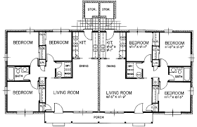 Duplex house plans and Duplex home plans are floor plans to build    ORDER this house plan  Click on Picture for Complete Info