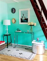 Paint Colors Turquoise Color Crush Aqua Updated Shelf Styling
