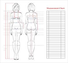 full body measurement chart woman body measurement chart scheme for measurement human body