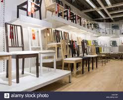 IKEA Swedish Retail Store Interior Stoughton NA Stock