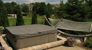 patio designs with fire pit and hot tub. Firepit, Custom Pergola In Dayton, Ohio Hot Tub Paver Patio Surround Designs With Fire Pit And H