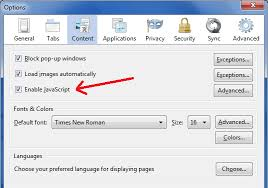 how to enable javascript enable java in mozilla firefox png
