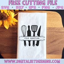 Are you searching for kitchen png images or vector? Free Kitchen Utensil Monogram Svg Digitalistdesigns
