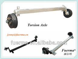torsion axle. boat trailer torsion axle