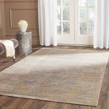 safavieh valencia grey gold 9 ft x 12 ft area rug