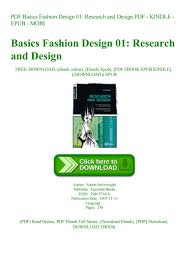 Fashion Designing Books For Beginners Free Download Pdf Research Paper Questions On Shion Design Methods Topics Read