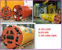 microtunneling. examples of micro-tunneling equipments microtunneling t