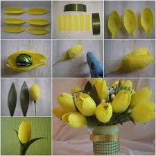 How To Make Paper Flower Bouquet Step By Step Diy Beautiful Chocolate And Crepe Paper Flower Bouquet