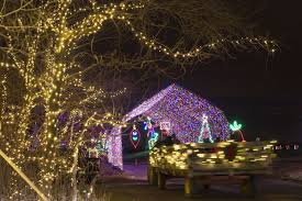 Delaware County Christmas Light Displays Welcome The Ho Ho Holiday Season With A Drive Through The