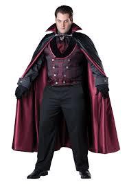 Außergewöhnlich Menu0027s Plus Size Midnight Vampire Costume