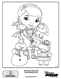 Small Picture Doc McStuffins friends Free Printable Coloring Pages