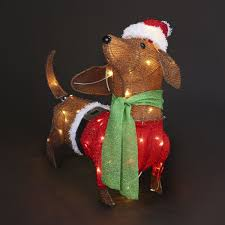 Kmart Christmas Lights Low Voltage Tinsel Sausage Dog Light Kmart Christmas