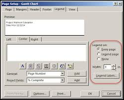 Ms Project Print Gantt Chart Without Timeline Microsoft Project Print To Pdf Options Explored