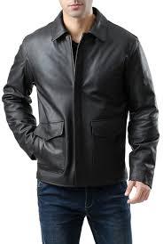landing leathers men s raider indy style leather jacket regular tall xv06919