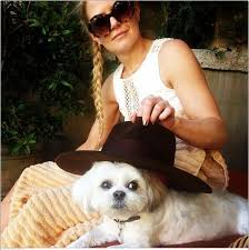 Jennifer Morrison and Ava | Anjo loiro, Anjos, Loiro