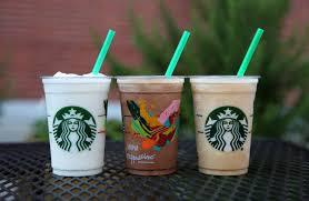 Light Frappuccino Options 5 Starbucks Mini Frappuccino Under 150 Calories