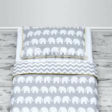 100cotton cot bed duvet cover set girls and boys grey elephantschevron baby duvet covers nz baby