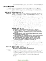 Interesting Outside Sales Resume Outside Sales Executive Resume