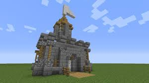 Easy Forts To Build Minecraft How To Build A Mini Castle Youtube