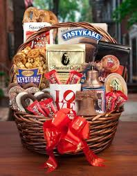 philly favorites basket perfect for the college graduate about to break out the books for finals