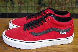vans shoes red and white. vans (vans shoes) sneakers tnt sg bright red/black/white vn000zsnikc532p17sep16 vans shoes red and white a