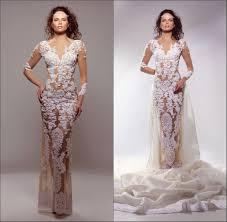 long sleeve lace fitted wedding dresses all women dresses