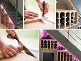 we have a large selection of wine racks but for wine storage under a staircase we specifically recommend the wine racks series moldow and square