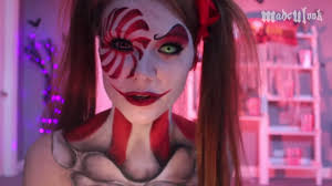 makeup tutorial you madeyewlook clown you can find more of her work here you madeyewlook body