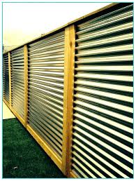 diy metal fence corrugated metal fence architecture corrugated metal fence panels home design intended for decorations
