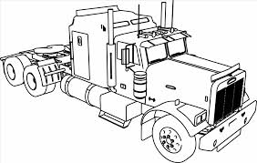 Small Picture Free Coloring Pages Of Trucks Printable Fire Truck Coloring Pages