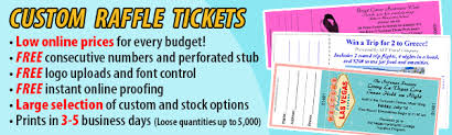 raffle tickets printing raffle ticket printing