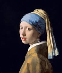 girl a pearl earring film vermeer s original painting girl a pearl earring from 1665