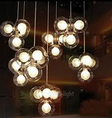 one cer 4 s clear glass balloon bubbles pendant suspension lamp lighting