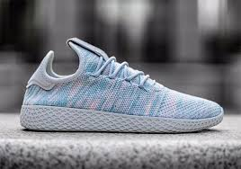 chanel x pharrell adidas. updated on july 14th, 2017: the pharrell williams x adidas tennis hu \u201clight blue\u201d releases in europe 21st, 2017 for $130. chanel