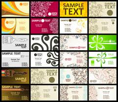 Free Creative Business Card Templates Personal Design Template Word