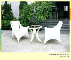 outdoor white wicker furniture nice. Awesome White Resin Wicker Outdoor Patio Furniture Set Or 82 Nice