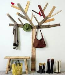 row of hooks coat rack. DIY Treeshaped Coat Rack More Original Than Row Of Hooks Painted Tree On The Wall Would Also Work Site Has Photos Others No Instructions Throughout