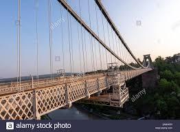 Suspension Bridge Model Design Clifton Suspension Bridge Over Avon Gorge Built To A Design