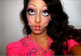 scary rag doll makeup photo 3