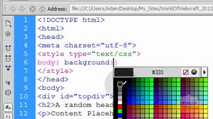 HTML5 Fixed Header and Footer Div Web Page Layout Creation Tutorial ...