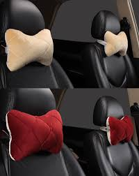 car neck pillow headrest warm winter automobiles cushion auto seat