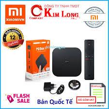 Bán Android Tivi Box Xiaomi Mibox S 4K Ultra HD Quốc Tế Tiếng Việt - Hãng  phân phối chính thức