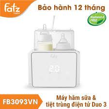 Chính Hãng] Máy hâm sữa tiệt trùng điện tử Duo 3 Fatzbaby FB3093VN - Máy  hâm sữa Fatz Baby