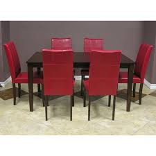 red dining room table and chairs red dining room chairs uk