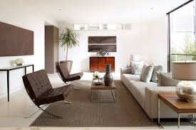 barcelona chair living room